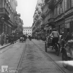View of Karmelicka street in the Warsaw ghetto