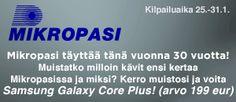 Vaihtuvia kilpailuja. http://www.radiopori.fi/kilpailut