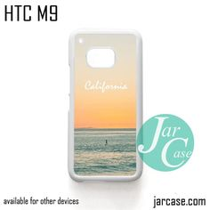 Caifornia Beach Phone Case for HTC One M9 case and other HTC Devices