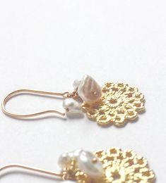 #ピアス #贈り物 #プレゼント #K18 #goldjewelry #pearl #keshipearl #piercings #jewelry Bobby Pins, Piercing, Pearl Earrings, Hair Accessories, Pearls, Jewelry, Summer, Beauty, Fashion