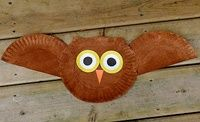 Another cute little owl craft. All of the crafts by amanda are super cute ideas for kids.