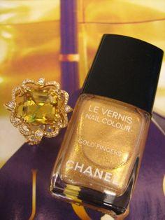 Gold for the fingertips