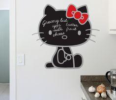 Hello Kitty Wall Chalkboard