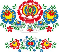 Hungarian Floral Folk Pattern - Kaloscai Embroidery With Flowers And Paprika Stock Illustration - Illustration of culture, frame: 50410139 Mexican Embroidery, Folk Embroidery, Learn Embroidery, Embroidery Patterns, Bordado Popular, Bird Patterns, Motif Floral, Antique Quilts, Stock Foto