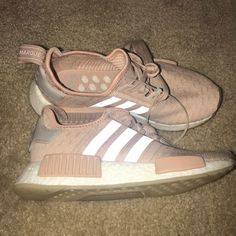 new styles 35cb8 48ee3 adidas Shoes   Adidas Baby Pink Nmd R1   Color  Pink   Size  5.5