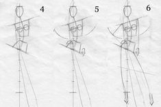 how to draw a fashion figure.
