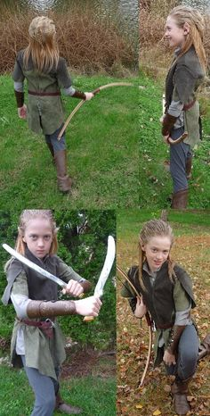 Guri's 2012 Halloween Costume Contest Entry: Her Son's Legolas