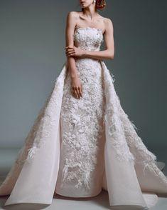 Alfazairy | Aloma #alfazairy #fashion #moda #dress #vestido #gown All About Fashion, Designer Wedding Dresses, Evening Gowns, One Shoulder Wedding Dress, Groom, Fall Winter, Bride, Lace, Skirts
