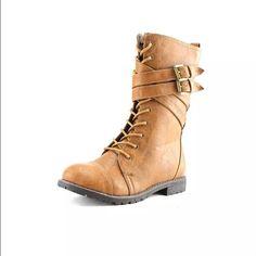 Brinley Co. Stella Women US 6 Brown Mid Calf Boot Brinley Co. Stella Women US 6 Brown Mid Calf Boot Shoes Combat & Moto Boots