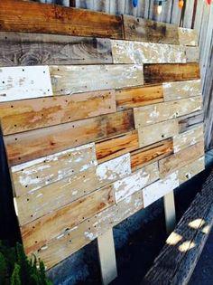 Custom Barn Wood Headboards