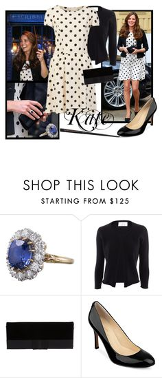 """""""Kate"""" by smylin ❤ liked on Polyvore featuring Topshop, Allude, Giorgio Armani and Ivanka Trump"""