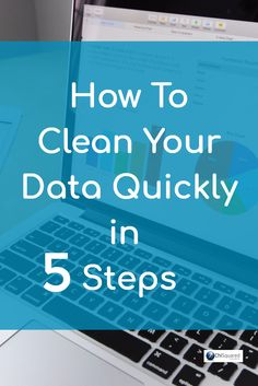 Learning how to clean data can be quick and easy with just a few organisational tricks. Here we show you the best 5 steps you'll ever learn to clean data. Data Science, Science And Nature, How To Clean Computer, Master Data Management, Management Tips, Computer Programming, Computer Science, Deep Learning, Data Analytics