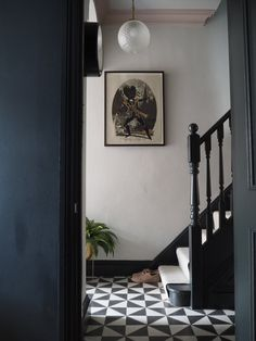 Hallway Makeover Before & After - How We Did It. — Gold is a Neutral