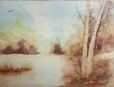 watercolor by Sanja Cvijetić