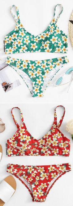 Shop stylish women's swimwear at FABKINI & find tankinis, bikinis, one-piece swimsuits, monokinis & more. Cute Swimsuits, Cute Bikinis, Summer Suits, Summer Wear, Bikini Beach, Bikini Swimwear, Cute Bathing Suits, Swimwear Fashion, Cami