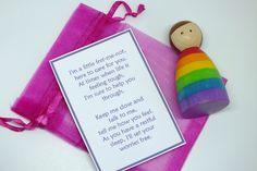Rainbow Girl Worry Doll