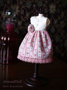 dress for Blythe - Almond doll