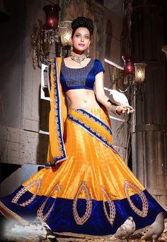 Lehenga Fabric - Bhagalpuri Choli Fabric -Bhagalpuri Dupatta Fabric - Chiffon Lehenga Length- 2.75mtr Choli Size -0.80 mtr Dupatta Size - 2.25 mtr Lehenga T