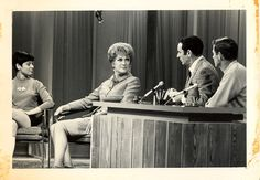 "Eve Arden on the ""Joey Bishop Show"" Eve Arden, Joey Bishop, Tv Land, Famous Faces, Vintage Photography, Candid, Movie Tv, 1960s, Nostalgia"