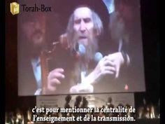Rav Steinman à Paris : Discours -en français- (2 Septembre 2012)