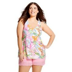 86397294efae6 Expect More. Pay Less. V Neck Tank TopLilly PulitzerPlaying Dress UpPlus  Size WomenPlus Size OutfitsSpring Summer FashionPreppyTank TopsTarget