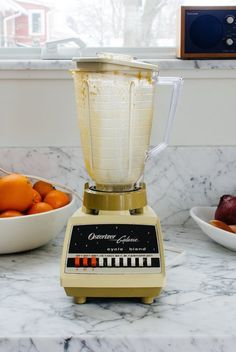 clean a blender without taking it apart.