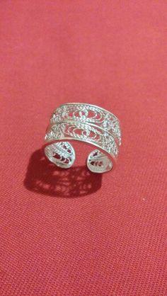 Prsten,srebro,rucni rad
