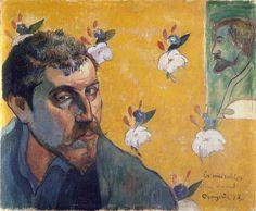 Gauguin, Self-Portrait, Les Miserables, 1888