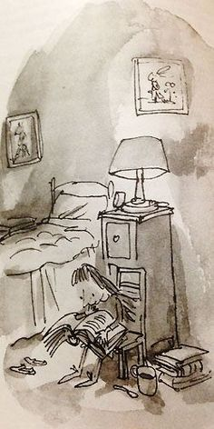 """""""Matilda,"""" by Roald Dahl. Illustrations by Quentin Blake"""