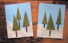 felted wool cards - Google Search