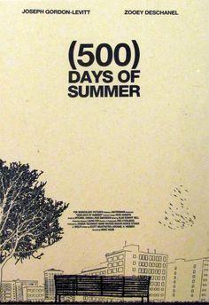 Постер к фильму 500 дней лета 3 :: Интернет-магазин дизайнерских постеров