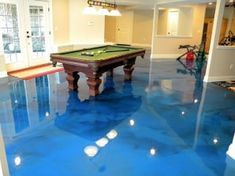 Modern Basement Floor Option Epoxy The Hidden Gem Of Flooring Shawnee Mission It Seem Like Every Spring Heavy Rain Cause Havok In Throughout Northeast Johnson County Flash Flood And Our High Moisture Over Epoxy Floor Basement, Best Flooring For Basement, Modern Basement, Basement Ideas, Perfect Image, Perfect Photo, Cool Pictures, Cool Photos, Shawnee Mission
