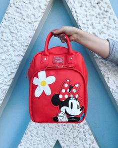 Perfect weekend bag | Loungefly Minnie Mouse Retro Mini Backpack