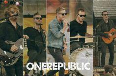 """OneRepublic :"""">"""
