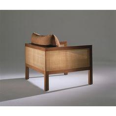 Cosme Velho armchair designed by Claudia Moreira Salles. Available at ESPASSO. Contemporary Brazilian design.