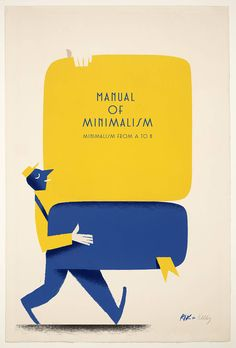 Minimalisms by Riccardo Guasco, via Behance