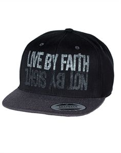 e9612d92a83 Live By Faith Snapback Hat hats. I want this!! It s so cute!