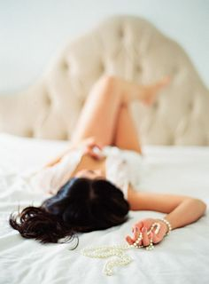 less is more when it comes to boudoir