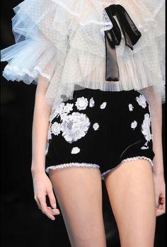 Details at Dolce & Gabbana Fall 2012