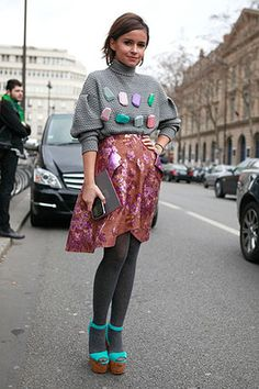 Street Style: Paris. Photo by Anthea Simms.