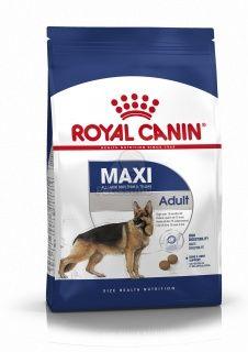 Royal Canin Maxi Adult Nagytestu Felnott Kutya Szaraz Tap