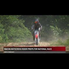 Thats Awesome!  Our new #Zener @mcclellan16 on the news!! Thank you @13wmazsports! http://ift.tt/29rGoQ2  #iamazener #mxzen #mx #motocross #news #sports #media
