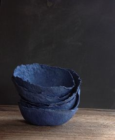 blue #paper_bowl photo  by Yuniko Studio via Flickr