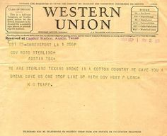 Hereu0027s An Actual Western Union Telegram To Give You An Idea How It Should  Look.