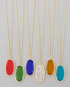 Kendra Scott Danielle Birthstone Necklace - Neiman Marcus. I'll take the one for August, please.