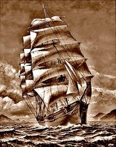 T t sailing ship
