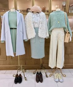 deicy_official:Theme color is mint☃️ ・ ・ DEICYでは綺麗なカラーのアイテムを Korea Fashion, Muslim Fashion, Asian Fashion, Hijab Fashion, Fashion Outfits, Womens Fashion, Simple Outfits, Chic Outfits, New Outfits