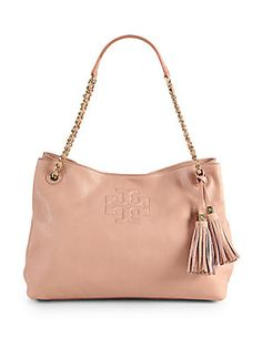 Tory+Burch Slouchy+Divided+Leather+Tote