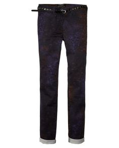 Five Pocket Skinny In Various Dessins > Womens Clothing > Pants at Maison Scotch
