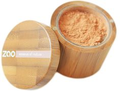 Mineral Silk from Zao Makeup. With mica, corn starch, silica.
